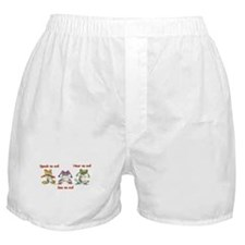 Three Frogs Boxer Shorts