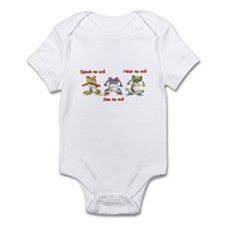 Three Frogs Infant Bodysuit
