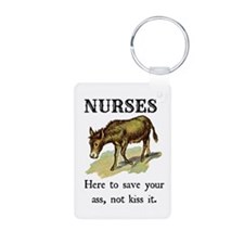 Nurses Save the Day Keychains