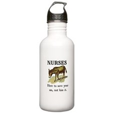 Nurses Save the Day Water Bottle