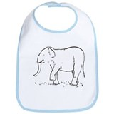 Ellie the Elephant Bib