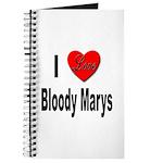 I Love Bloody Marys Journal