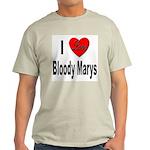 I Love Bloody Marys Ash Grey T-Shirt