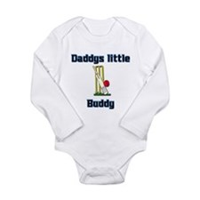 Daddys little Cricket buddy. Body Suit