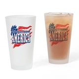 Old Enough to Remember America Drinking Glass