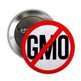 "NO GMO 2.25"" Button"