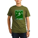 Get Lost (male character) Black T-Shirt