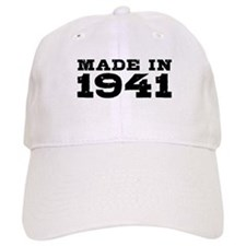 Made In 1941 Baseball Cap
