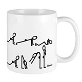 Yoga Sun Exercises Small Mug