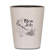 Blow Job Shot Glass