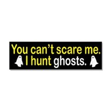 I Hunt Ghosts Car Magnet 10 x 3