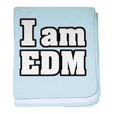 I am EDM baby blanket