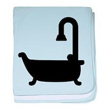 Bath tub shower baby blanket