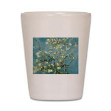 Van Gogh Blossoming Almond Tree Shot Glass