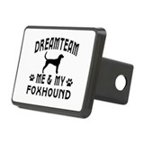 Foxhound Dog Designs Rectangular Hitch Cover