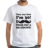 Funny Mustache 30th Birthday Shirt