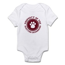 Scottish Deerhound Infant Bodysuit