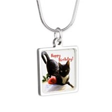 Happy Birthday Kitty Necklaces