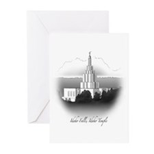 Idaho Falls, Idaho Temple Greeting Cards (Package