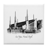 Las Vegas, Nevada Temple Tile Coaster