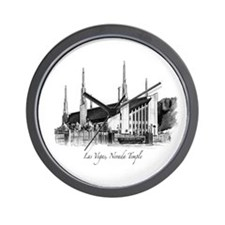 Las Vegas, Nevada Temple Wall Clock