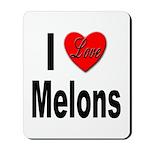 I Love Melons Mousepad