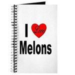 I Love Melons Journal
