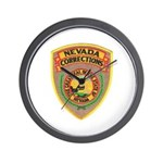 Nevada Corrections Wall Clock