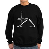 Yoga Triangle Pose Sweatshirt