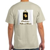 Proud Wolfhound Brother-Spc Ash Grey T-Shirt