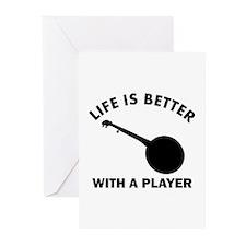 Banjo Designs Greeting Cards (Pk of 10)