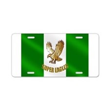 Nigerian Eagle Flag Aluminum License Plate