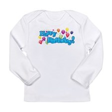 Happy Birthday Long Sleeve T-Shirt