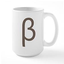 Greek Symbol Beta Mug