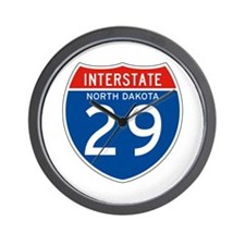 Interstate 29 - SD Wall Clock