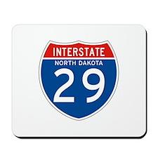 Interstate 29 - SD Mousepad
