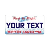 North Carolina - First in Flight License plate