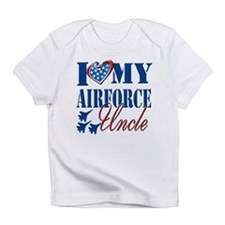 I Love My Airforce Uncle Infant T-Shirt