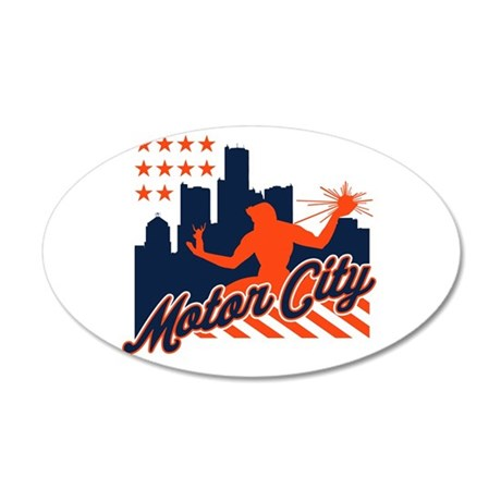 Motor City Wall Decal