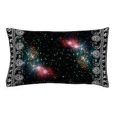 zodiac black Pillow Case