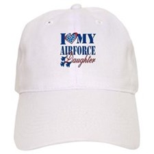 I Love My Airforce Daughter Baseball Baseball Cap