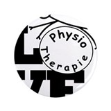 "Love Physiotherapie 3.5"" Button"