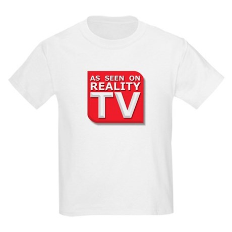 Funny As Seen on Reality TV Logo Kids Light T-Shir