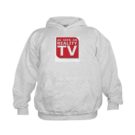 Funny As Seen on Reality TV Logo Kids Hoodie