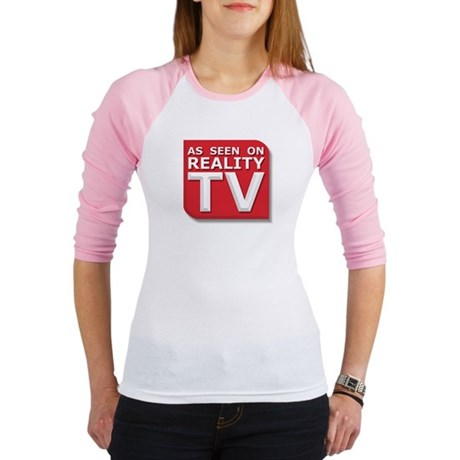 Funny As Seen on Reality TV Logo Jr. Raglan
