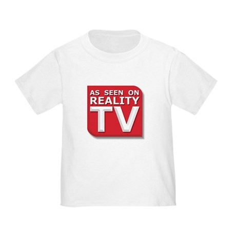 Funny As Seen on Reality TV Logo Toddler T-
