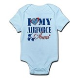 Air force aunt Bodysuits