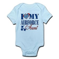 I Love My Airforce Aunt Body Suit