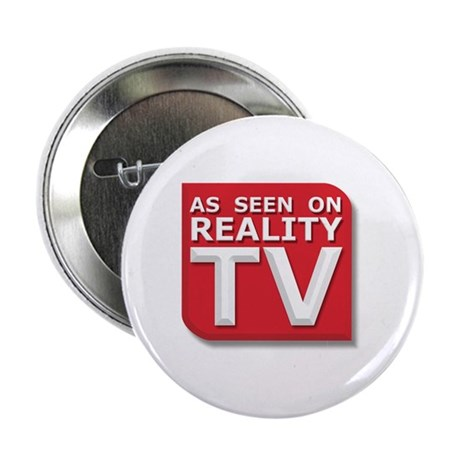 "Funny As Seen on Reality TV Logo 2.25"" Button (100"