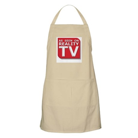 Funny As Seen on Reality TV Logo BBQ Apron